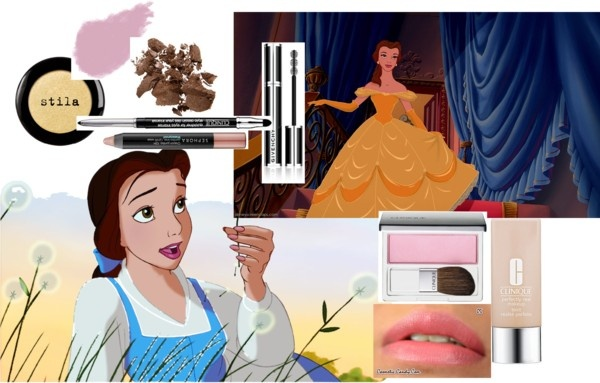 """""""DISNEY MAKEUP-Belle Inspired Makeup"""" by lexifazz on Polyvore"""