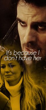 Captain Swan - Emma - Hook - Once Upon a Time  ------  THE EYEBROW OF DEATH!