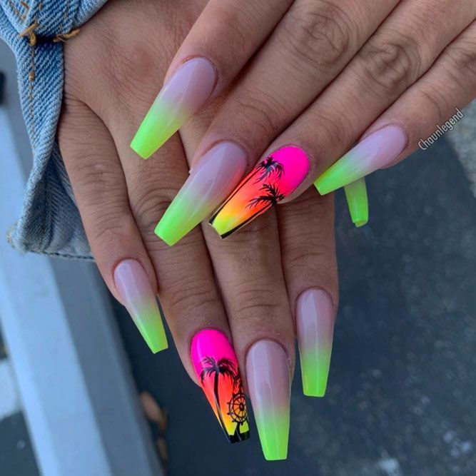 30 Perfect Coffin Acrylic Nails Designs To Sport This Season With