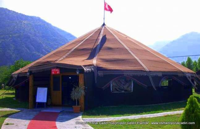 Yörük (Kıl) Çadırı Modeli-3 Kıl Çadır