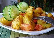 Bombajské brambory podle Jamieho Olivera