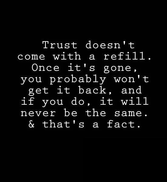 Trust Quotes 19 Best Trust Images On Pinterest  Thoughts Inspiration Quotes And .