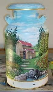 milk can art - Yahoo Image Search Results