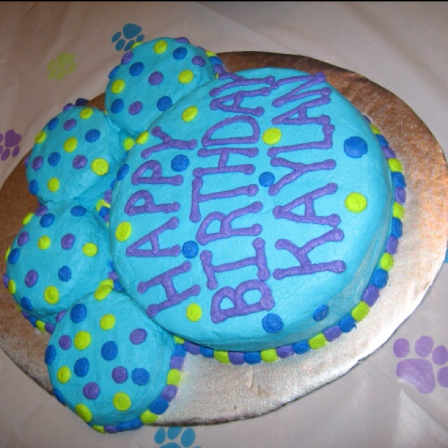 Idea of a cake for kailyn