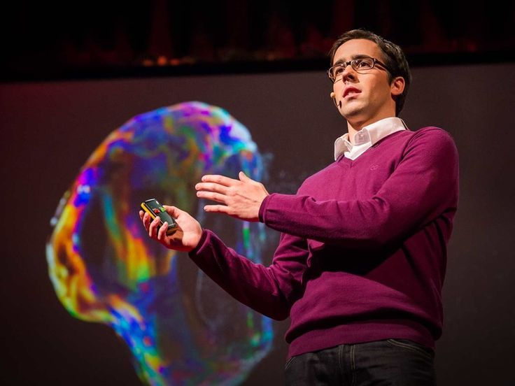 Swiss artist and photographer Fabian Oefner is on a mission to make eye-catching art from everyday science. In this charming talk, he shows off some recent psychedelic images, including photographs of crystals as they interact with soundwaves. And, in a live demo, he shows what really happens when you mix paint with magnetic liquid--or when you set fire to whiskey.