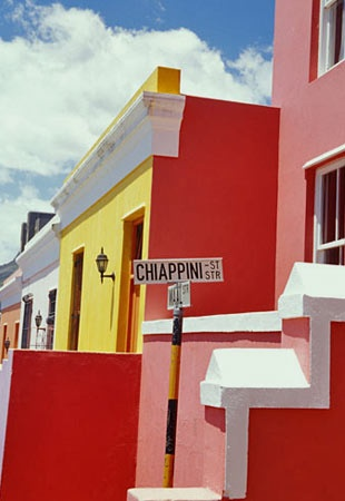 The Cape Town neighbourhood of Bo-Kaap is also known as the Cape Malay Quarter and has a history as colourful as its houses.