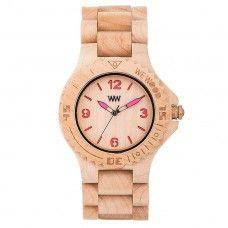 Reloj Kale Beige Pink WeWood