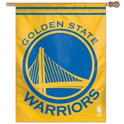 """Golden State Warriors Vertical Flag 27"""""""" x 37"""""""""""