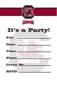 University of South Carolina - Invite (8ct)