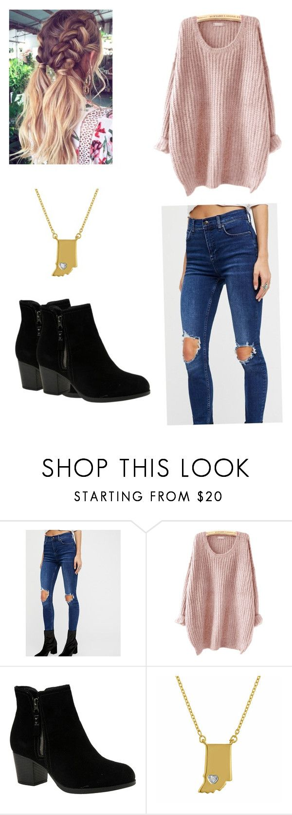 """Cute Everyday School Outfit"" by hannahhutton on Polyvore featuring Free People and Skechers"