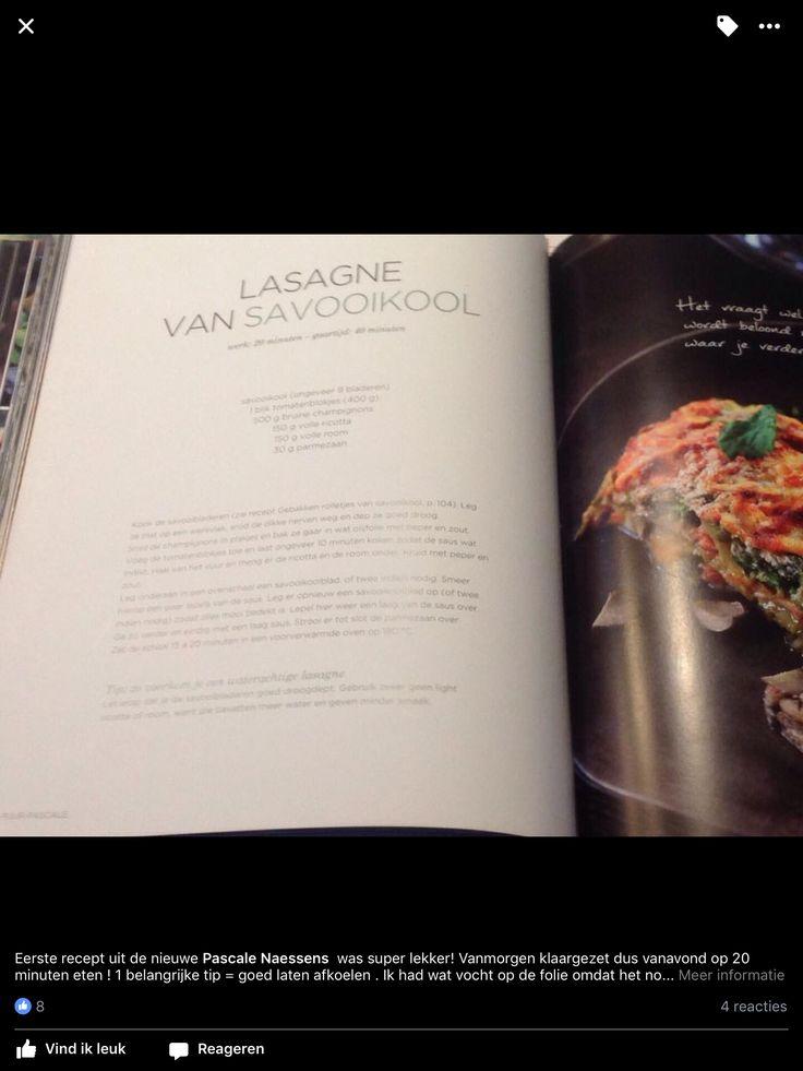 Lasagne van savooikool