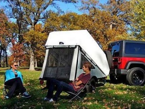 Pop Up Canopy Tent >> Mini Pop-up Camper by Ty-Dean Customs LLC - YouTube (With ...