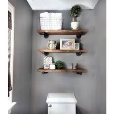 above toilet shelves – Google Search   – Bathroom
