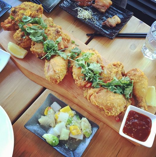Taiwanese Fried Chicken? Sign us up! Try this dish at Kanpai Snack Bar in Toronto