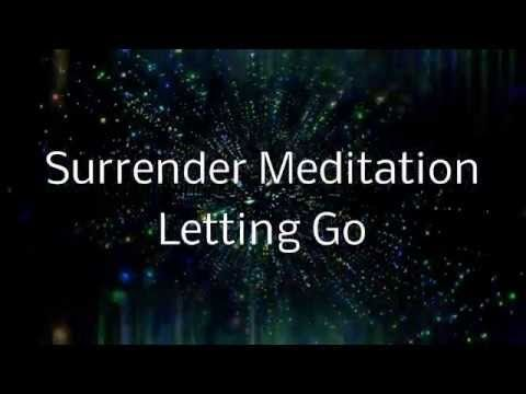 Surrender Meditation | A Spoken guided visualization (Letting go of control) - YouTube
