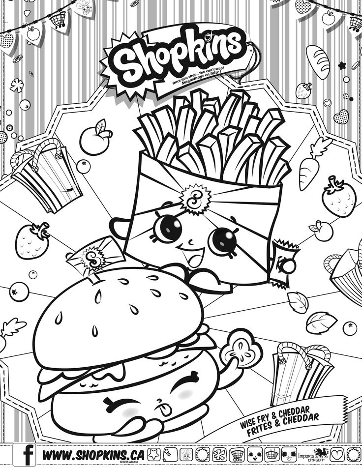 shopkins coloring pages google search - Free Coloring Books