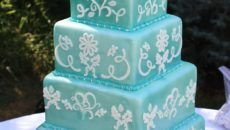 the cake mama teal wedding cute color 2016