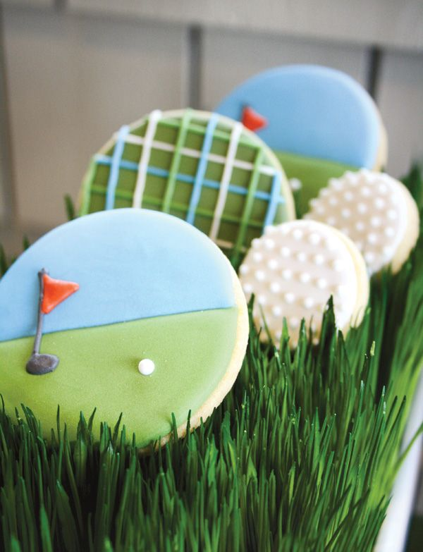 """A Hole in One"" Par-tee {Golf First Birthday} // Hostess with the ..."