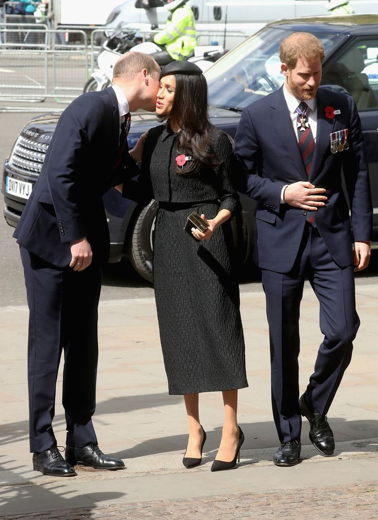 Meghan Markle Photos - Prince William, Duke of Cambridge, Meghan Markle and Prince Harry attend an Anzac Day Service of Commemoration and Thanksgiving at Westminster Abbey on April 25, 2018 in London, England. Anzac Day commemorates Australian and New Zealand casualties and veterans of conflicts and marks the anniversary of the landings in the Dardanelles on April 25, 1915 that would signal the start of the Gallipoli Campaign during the First World War. An
