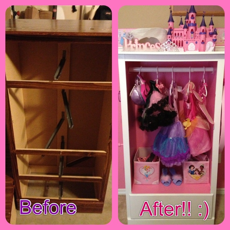 Child Dress Up Closet