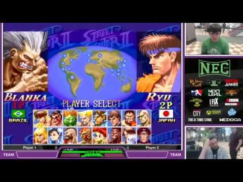 NEC 17 Super Street Fighter 2 Turbo Teams Tournament
