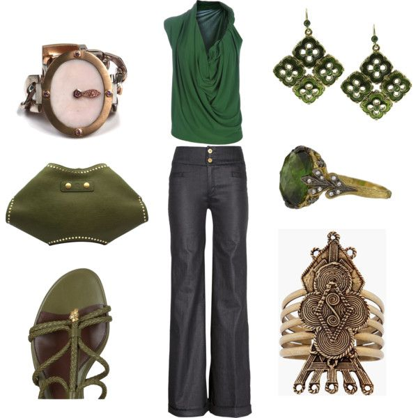 Go Green: Planets, Fashion Style, Ora, Candice Saffer, Green Outfits, Gucci Products, Green Dresses Up, Accessories, Style Clothing
