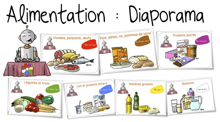 Bout de gomme - Diaporamas sur l'alimentation