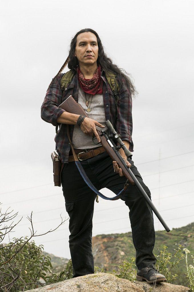 Michael Greyeyes (Qaletqa Walker - Fear the Walking Dead)