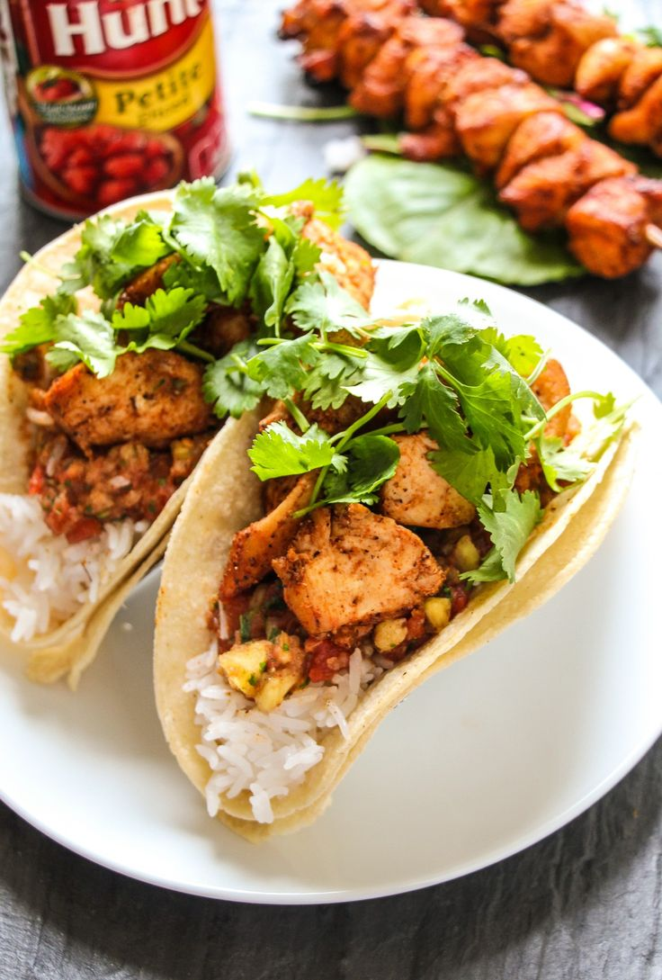This shop has been compensated by Collective Bias, Inc. and its advertiser. All opinions are mine alone. #Salsafy #CollectiveBias Today is Totally Absolutely Cajun Chicken Taco Thursday >>> Little chicken bites get coated in the most glorious spicy cajun marinade, threaded on a stick, baked to tender perfection, stuffed in tacos with rice, cilantro, and …