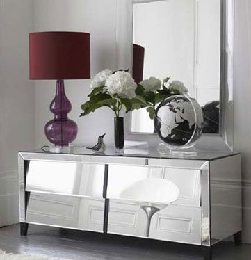 28 best Mirrored Furniture images on Pinterest | Mirrored ...