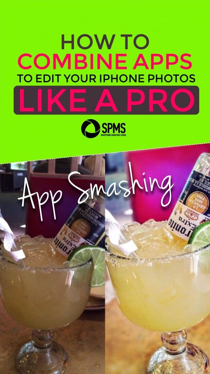 Learn how to get amazing results with your iPhone photos by combining apps (aka app smashing)