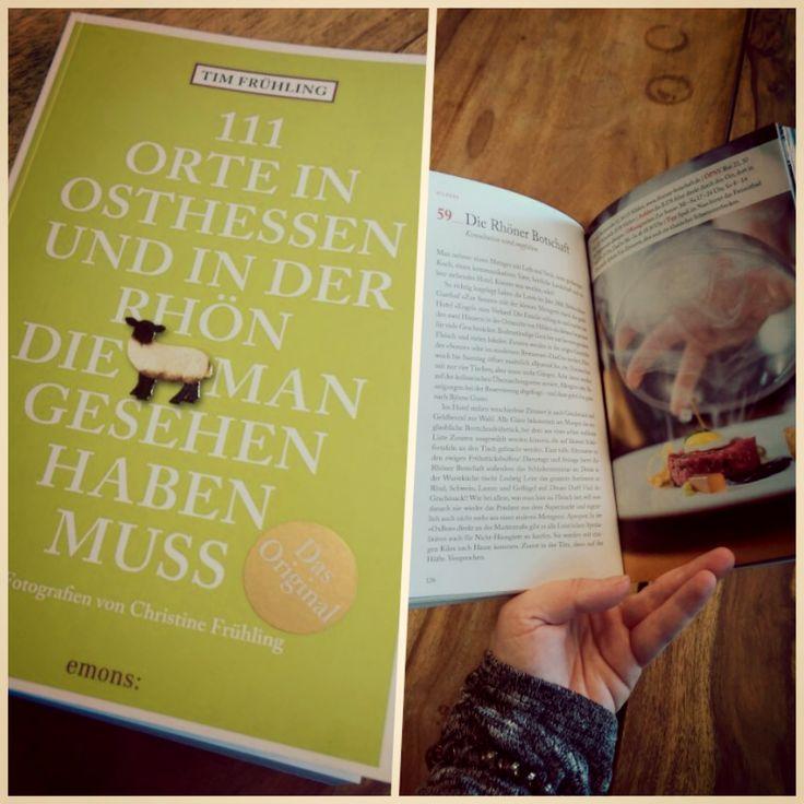 """Kleiner Schmökertipp für Rhön Fans: Das neue Buch """"111 Orte in Osthessen und der Rhön die man gesehen haben muss"""" von Tim Frühling gibt es ab sofort im wohl sortierten Buchhandel. Auch wir sind ein Ort den man gesehen haben muss (S. 126) ;-)."""