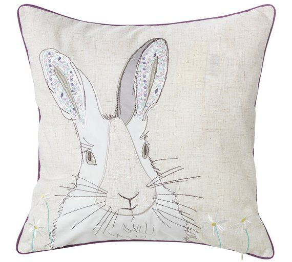 Buy Heart of House Rene Rabbit Cushion at Argos.co.uk, visit Argos.co.uk to shop online for Cushions, Home furnishings, Home and garden