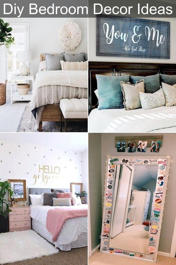Bedroom Makeover Best Bedroom Decor Beautiful Bed Decoration In 2020 Bedroom Diy Bedroom Decor Diy Bedroom Decor