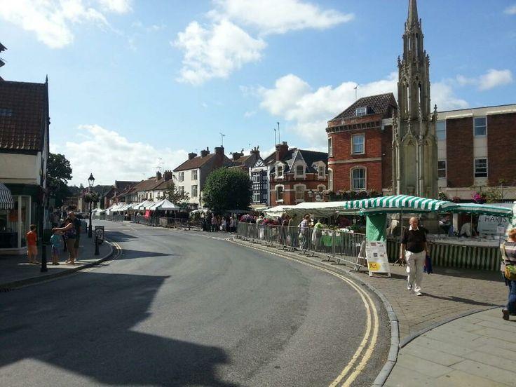 Magdelene Street on Market day