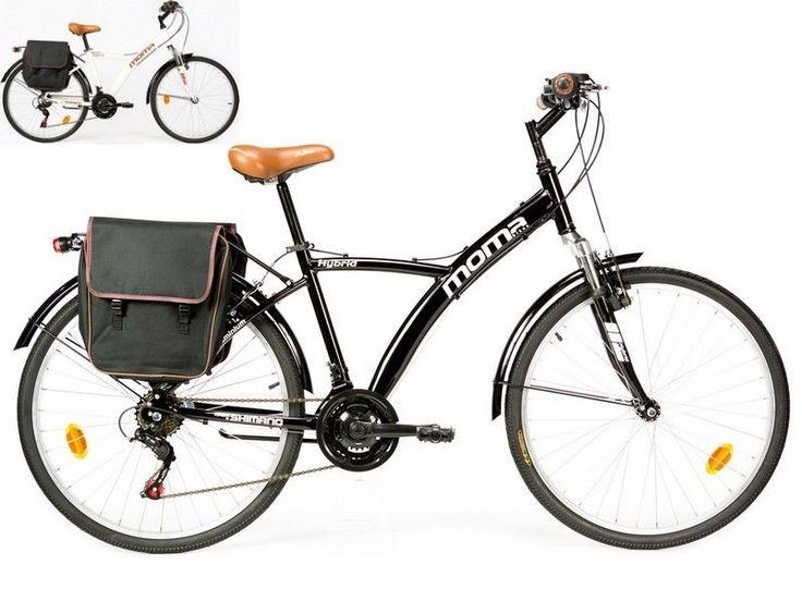 Bicicleta de Paseo Híbrida SHIMANO. ALUMINIO, 18 VEL., RUEDA de 26 , SUSPENSIÓN