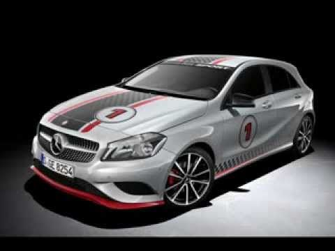 Mercedes A-Class Sport Products and Night Styling package Accessories announced - 180 amg A45
