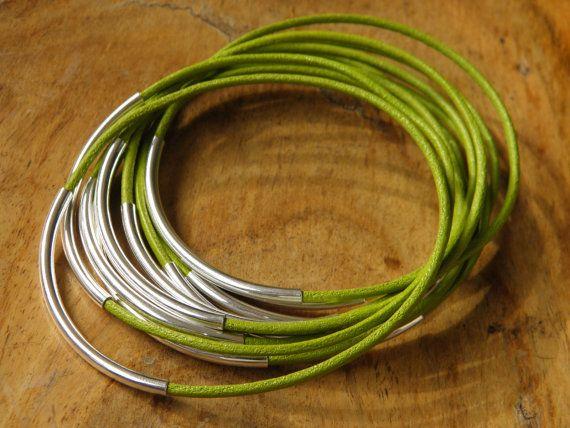 Bracelet semainier en cuir Bahia Del Sol  couleur par bahiadelsol, $31.00