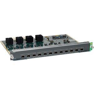 CISCO WS-X4712-SFP+E. Cisco Ws-X4712-Sfp+E Service Module E-Series 12-Port 10GbE (SFP+) for Cisco 4500. The Cisco Catalyst 4500E Series also supports 10 Gigabit Ethernet line cards.   http://www.digitaloptions.com/cisco-wsx4712sfp-e.html