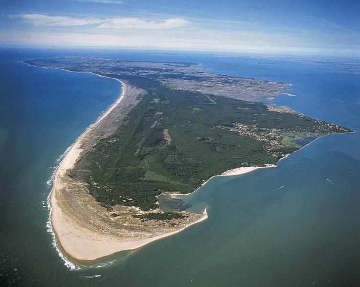 Vue aérienne de la pointe sud - Ile d'Oléron - Charente-Maritime (17)