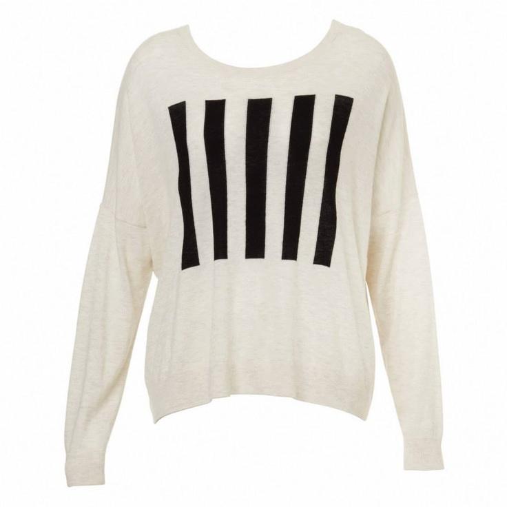 Sportsgirl - Intarsia Stripe Sweater