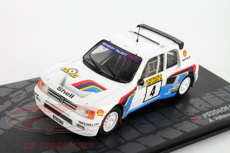 Peugeot 205 T16 E1, 1000 Lakes Rally 1984, No.4, A.Vatanen / T.Harryman. Altaya, 1/43. Price (2016): 15 EUR.