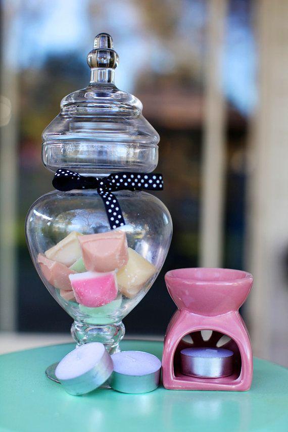 Tiny burner gift pack. by LilyandGingerCandles on Etsy