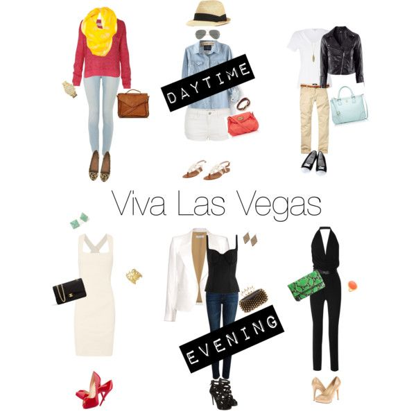 Planning a trip to Vegas? Check out these outfits that will take you from day to night in Sin City.