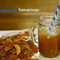 How to make agua de tamarindo (tamarind water), with a step by step slideshow.