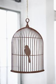 ferm LIVING Birdcage Plywood Mobile