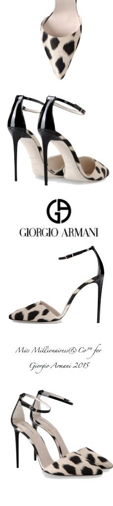 Giorgio Armani 2015 Court Shoes - Accessories Show™
