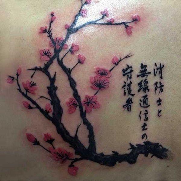 40 Cute Cherry Blossom Tattoo Design Ideas Hative Tattoos Designs