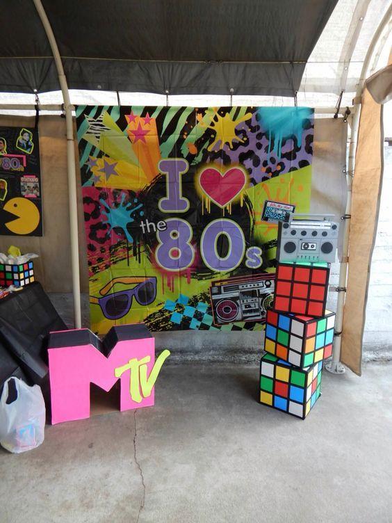 91 Besten Bday Party Ideen Bilder Auf Pinterest 80er