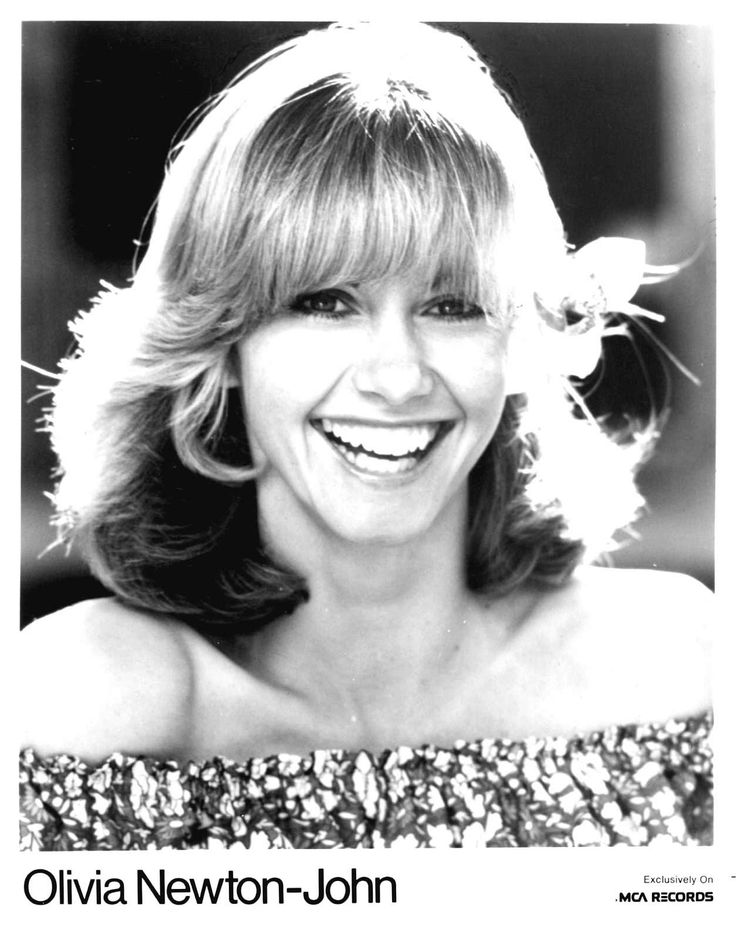 I loved when her crystal clear soprano came on the radio - Olivia Newton-John